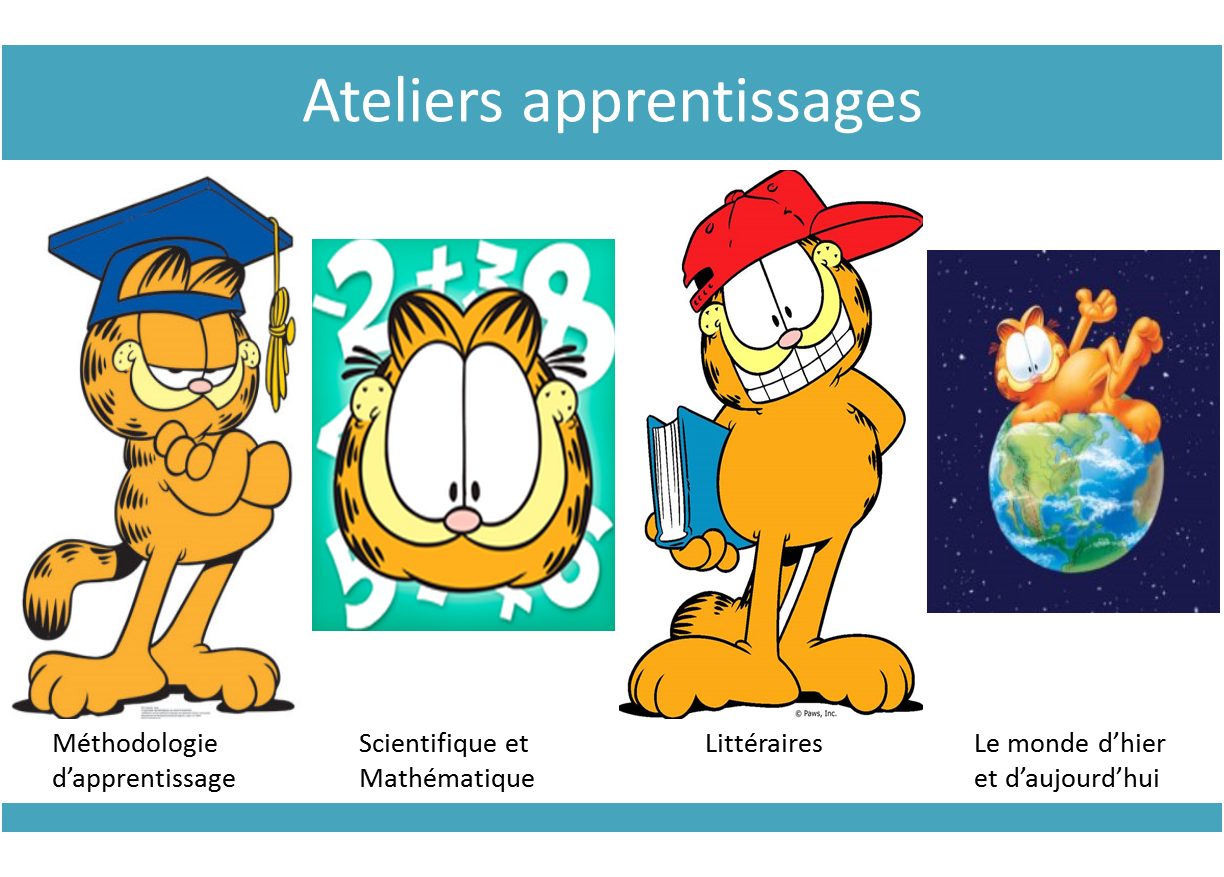 Ateliers apprentissages